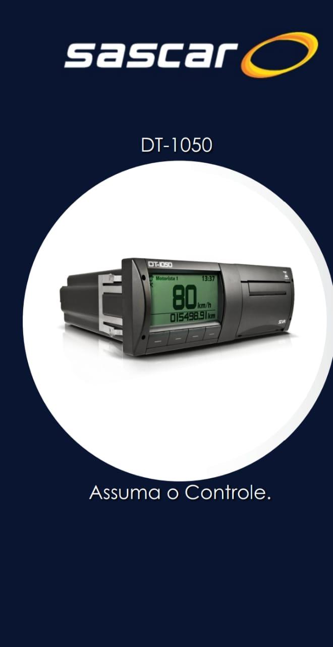 DT-1050: Computador de Bordo com Função Cronotacógrafo Digital